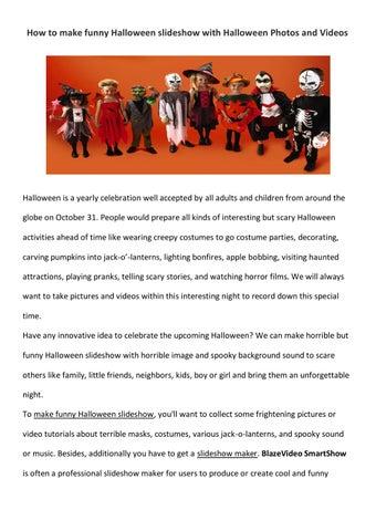 How to make funny halloween slideshow by amigabit - issuu