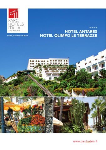 Brochure Hotel Antares & Hotel Olimpo le terrazze by Brain & Storm ...