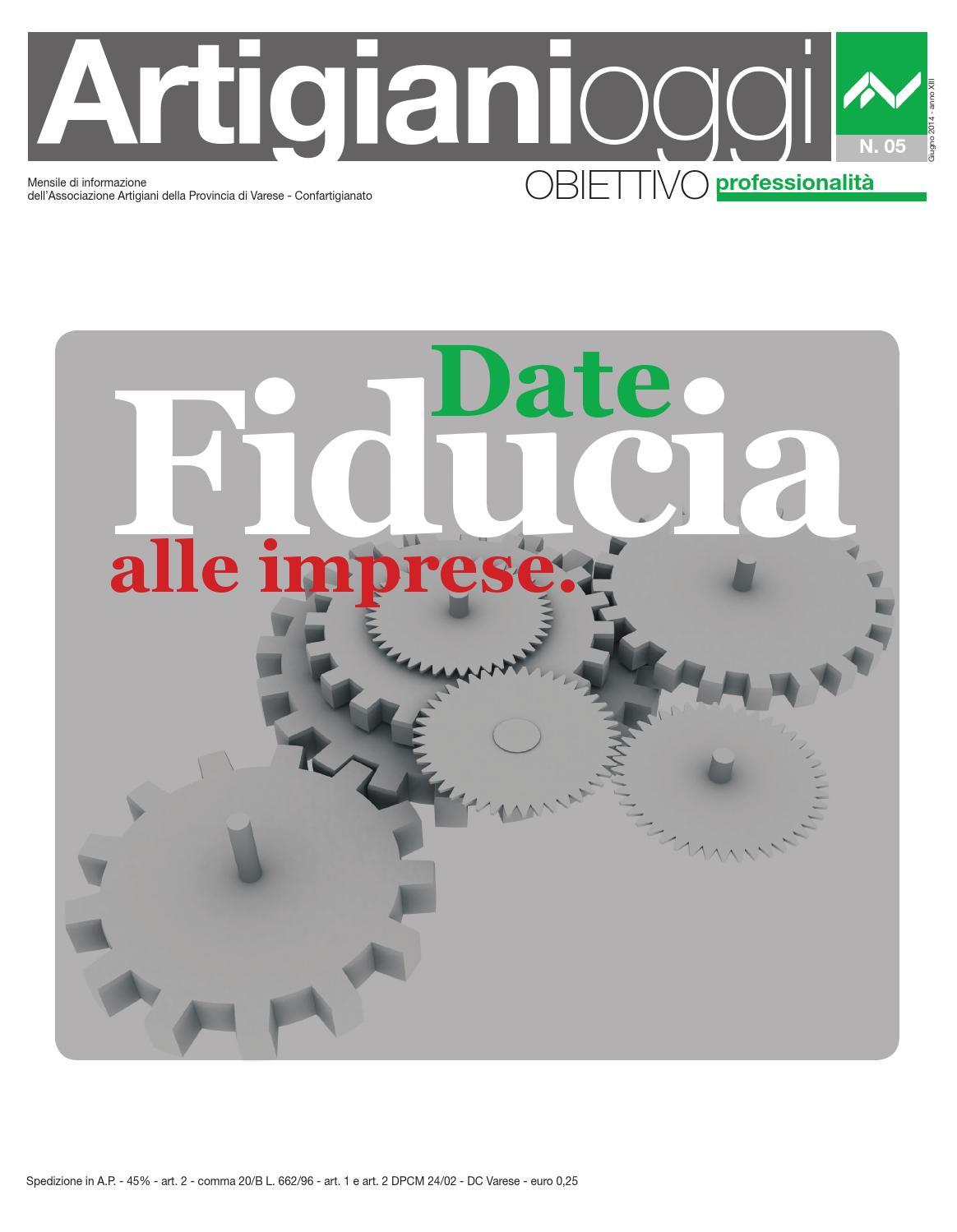 Imprese Edili Varese E Provincia artigiani oggi - giugno 2014 by confartigianato imprese