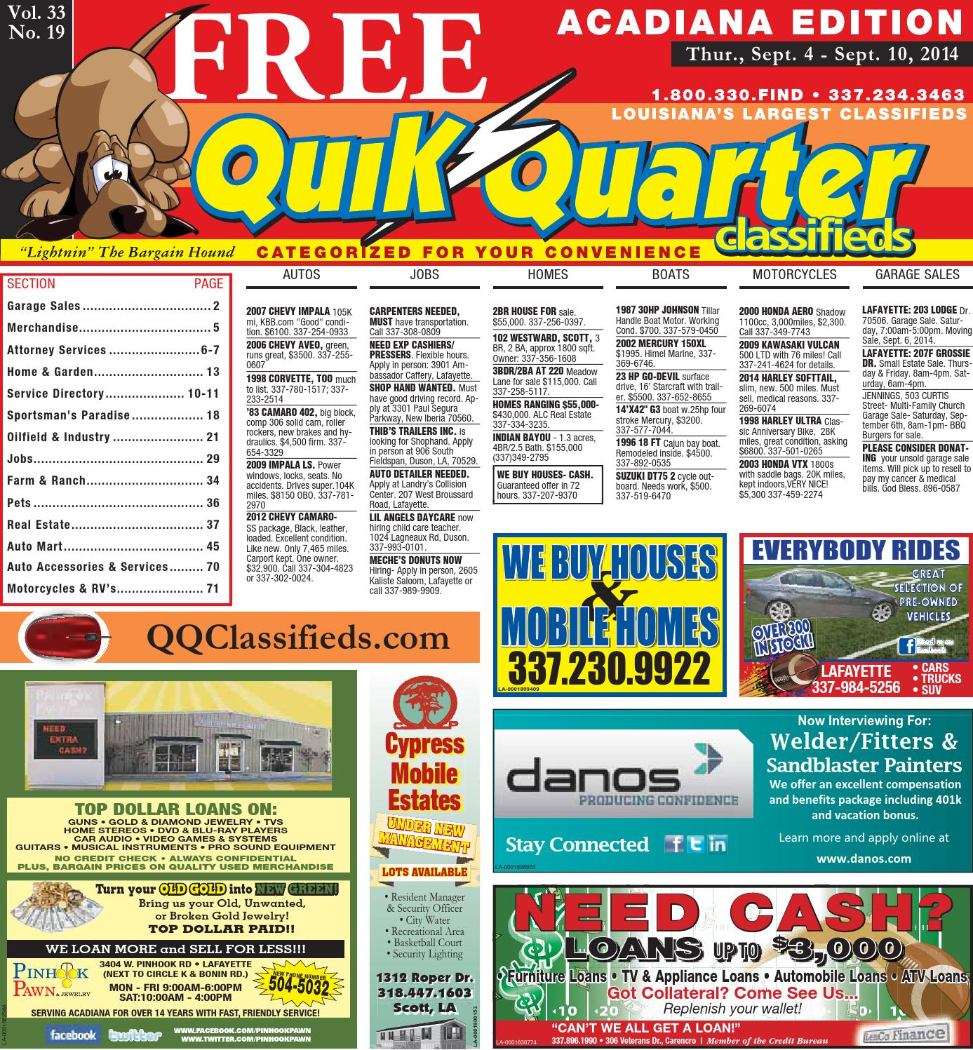 QQAcadiana-09 04 2014 by Part of the USA TODAY NETWORK - issuu