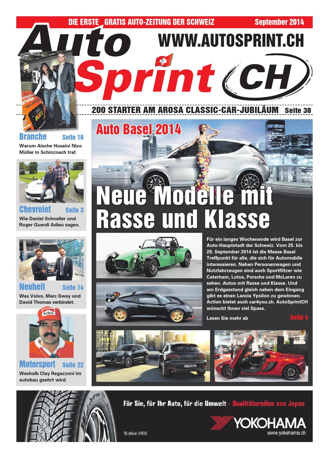 AutoSprintCH Ausgabe September 2014 by AutoSprintCH issuu