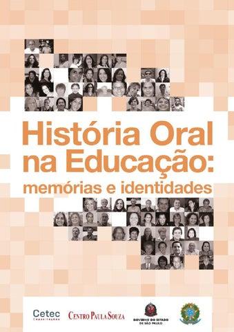 Livro História Oral na Educação  memórias e identidades by Memórias ... e6270b8aaf30d
