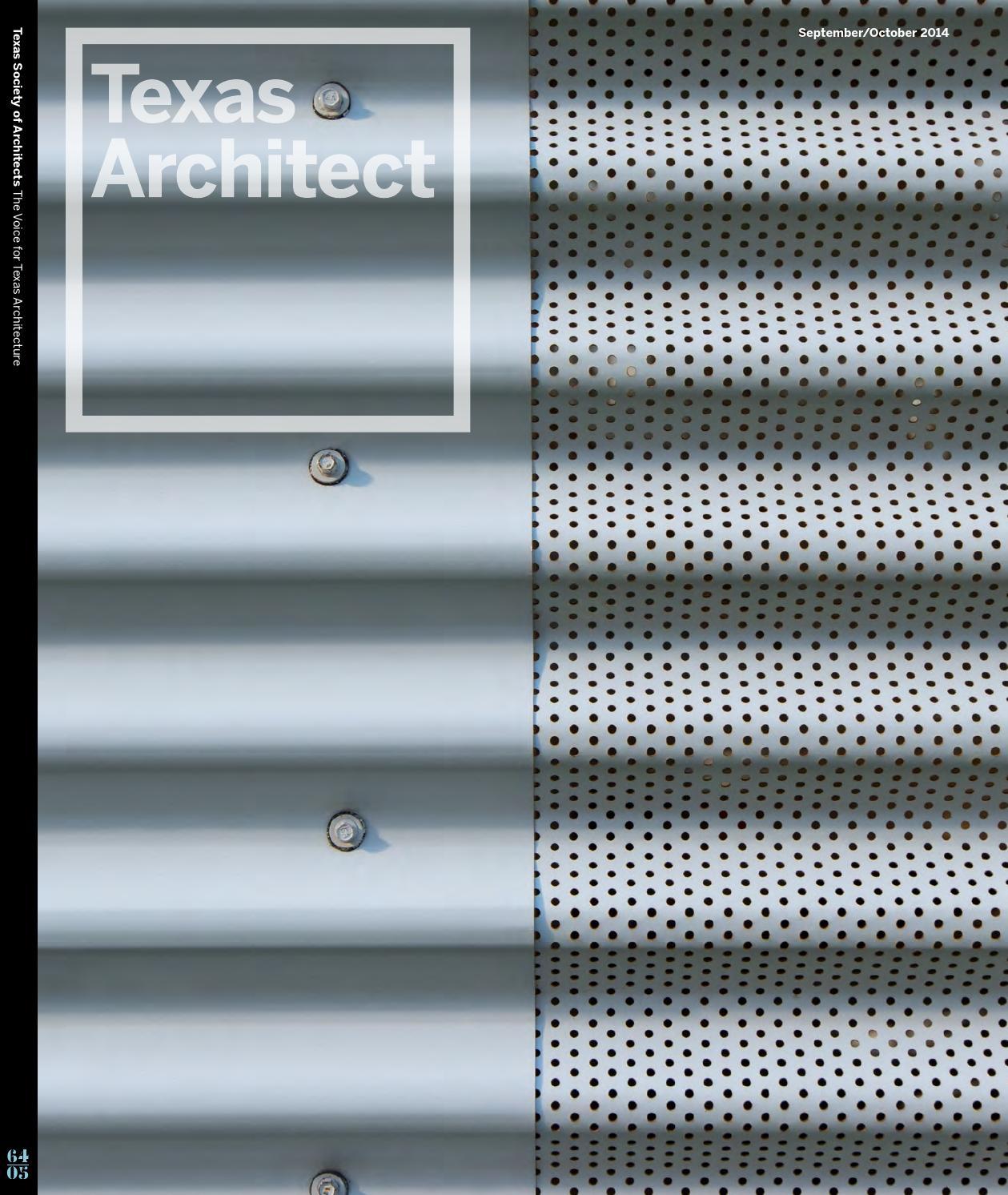 Texas Architect September/October 2014: Design Awards by Texas ...