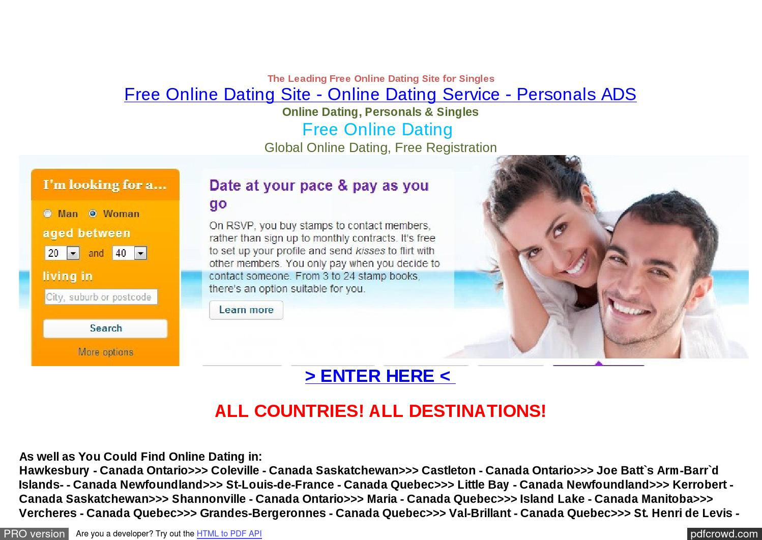 Online dating service voor studenten
