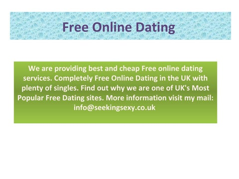Internet dating powerpoint 2