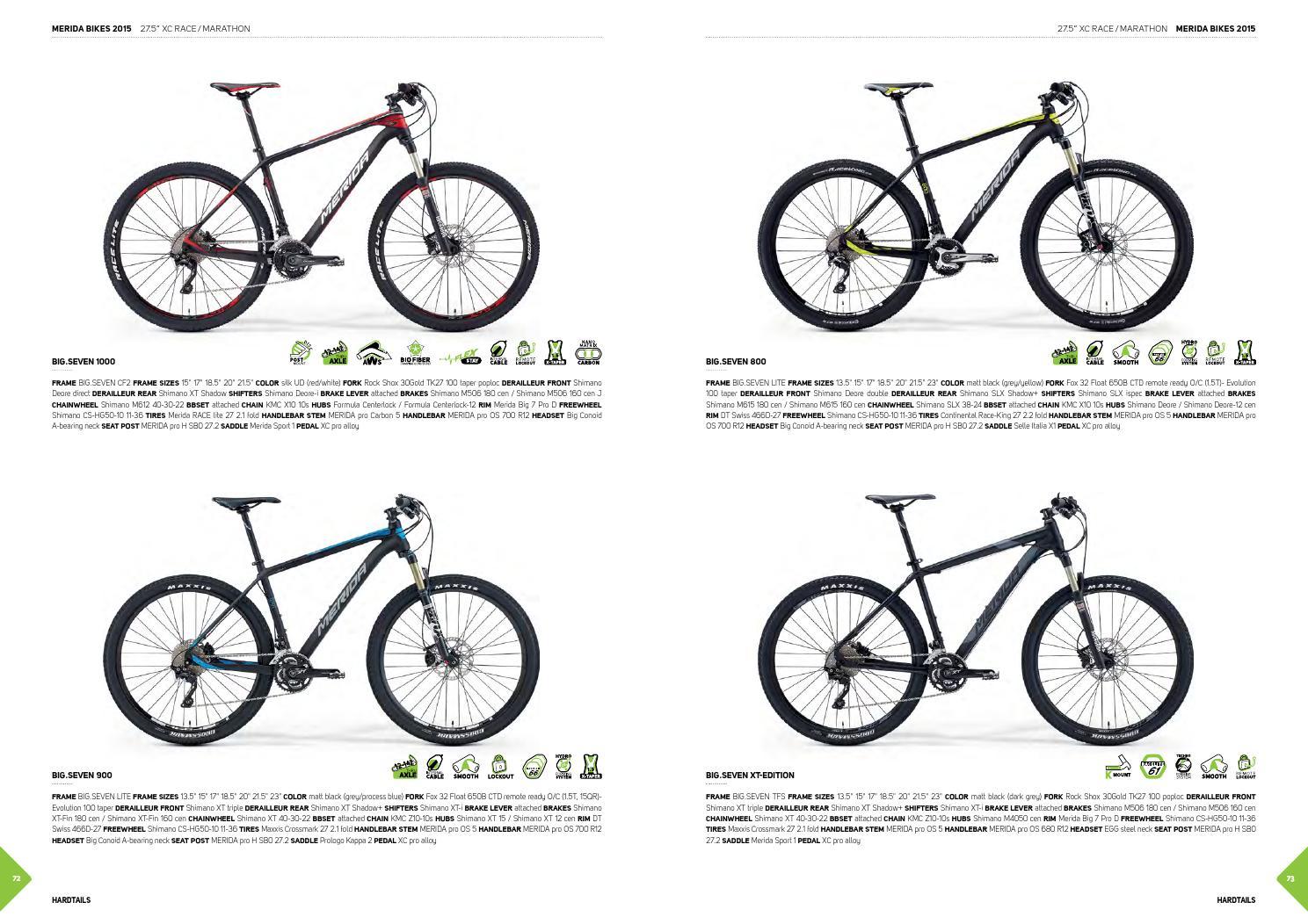 Merida Bikes 2015 Inernational Version By Merida Centurion Germany Gmbh Issuu