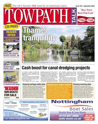 Towpath Talk September 2014 - FULL ISSUE by Mortons Media