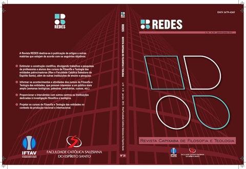 Redes filosofia e teologia n18 by catlica de vitria centro page 1 fandeluxe Image collections