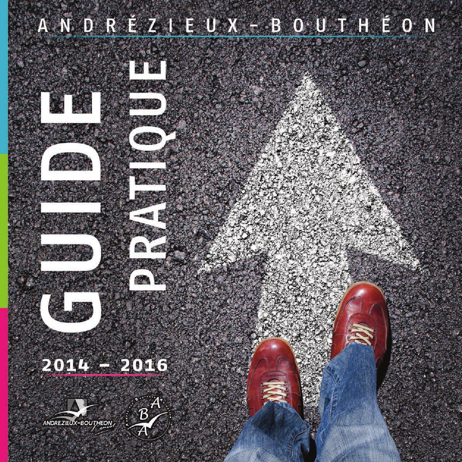 Andrezieux Guide Pratique 2014 2016 By CGEO