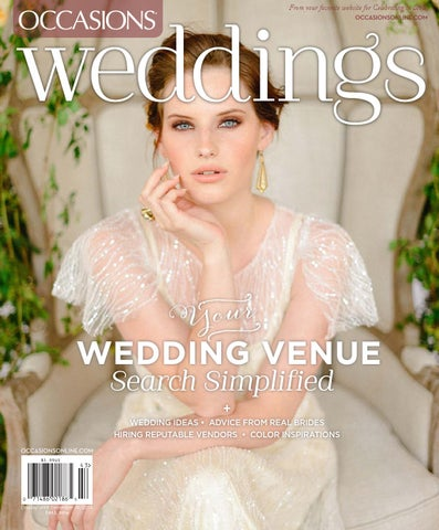 017468a5564 Occasions  Weddings - Fall 2014 by Occasions Magazine - issuu