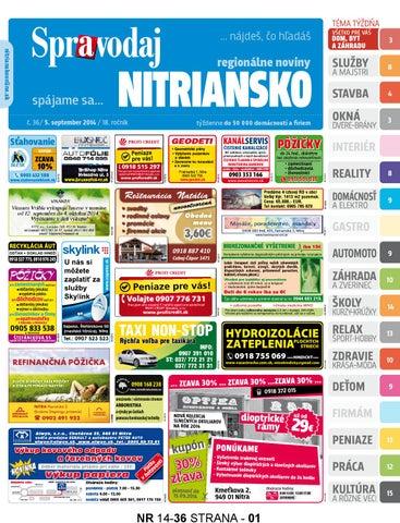 eefcaf11f Nitriansko 14 36 by nitriansko nitriansko - issuu