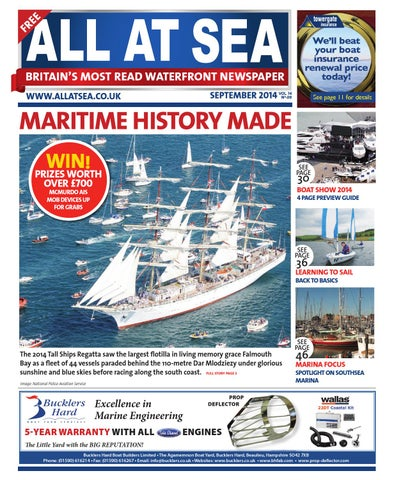 All at sea september 2014 by all at sea issuu page 1 fandeluxe Gallery