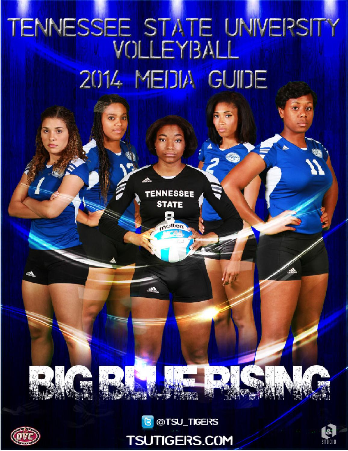 2014 Tennessee State Volleyball Media Guide By Tsutigers Issuu