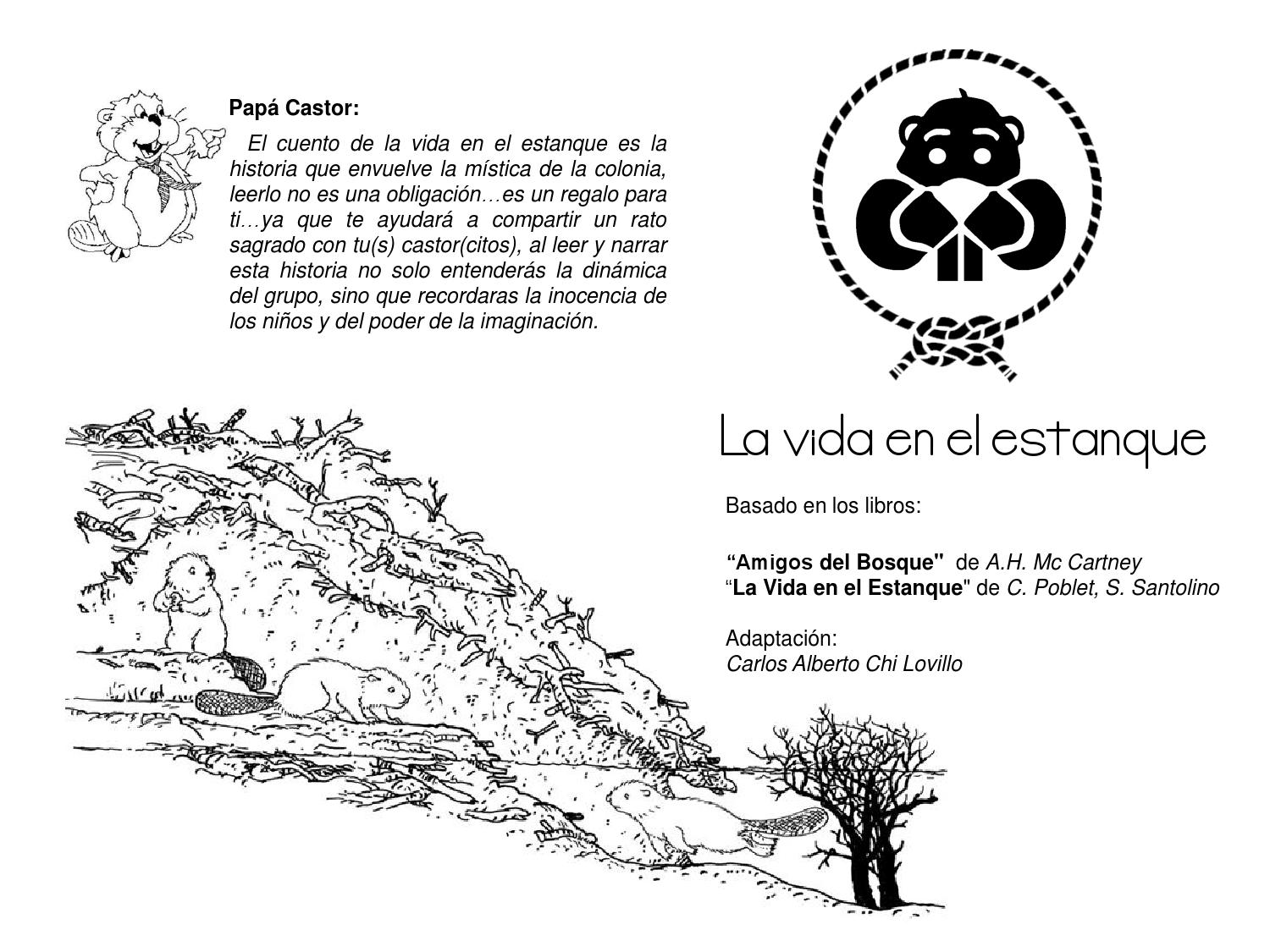 La vida en el estanque by carlos chi issuu for Caracteristicas de un estanque