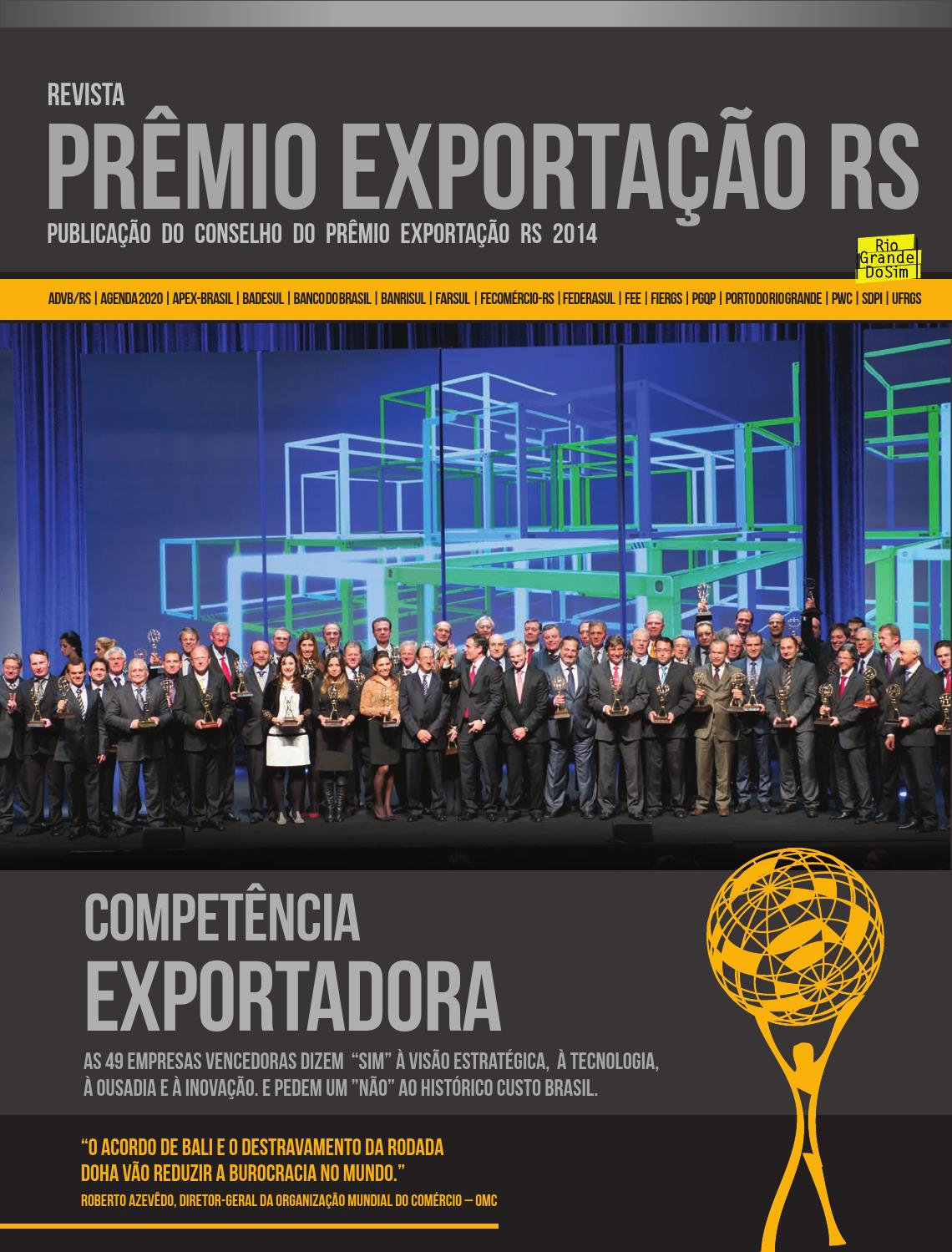 Prmio exportao rs 2014 by advb rs issuu fandeluxe Gallery