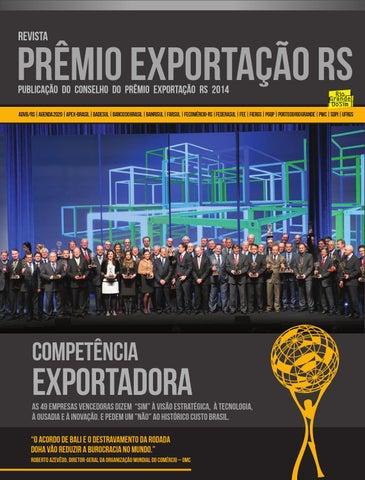 a1bfec48e Prêmio Exportação RS 2014 by Advb Rs - issuu
