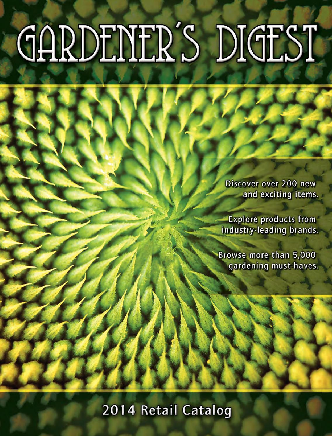 Gardener's Digest 2014 Spring-Summer Catalog by BWGS - issuu
