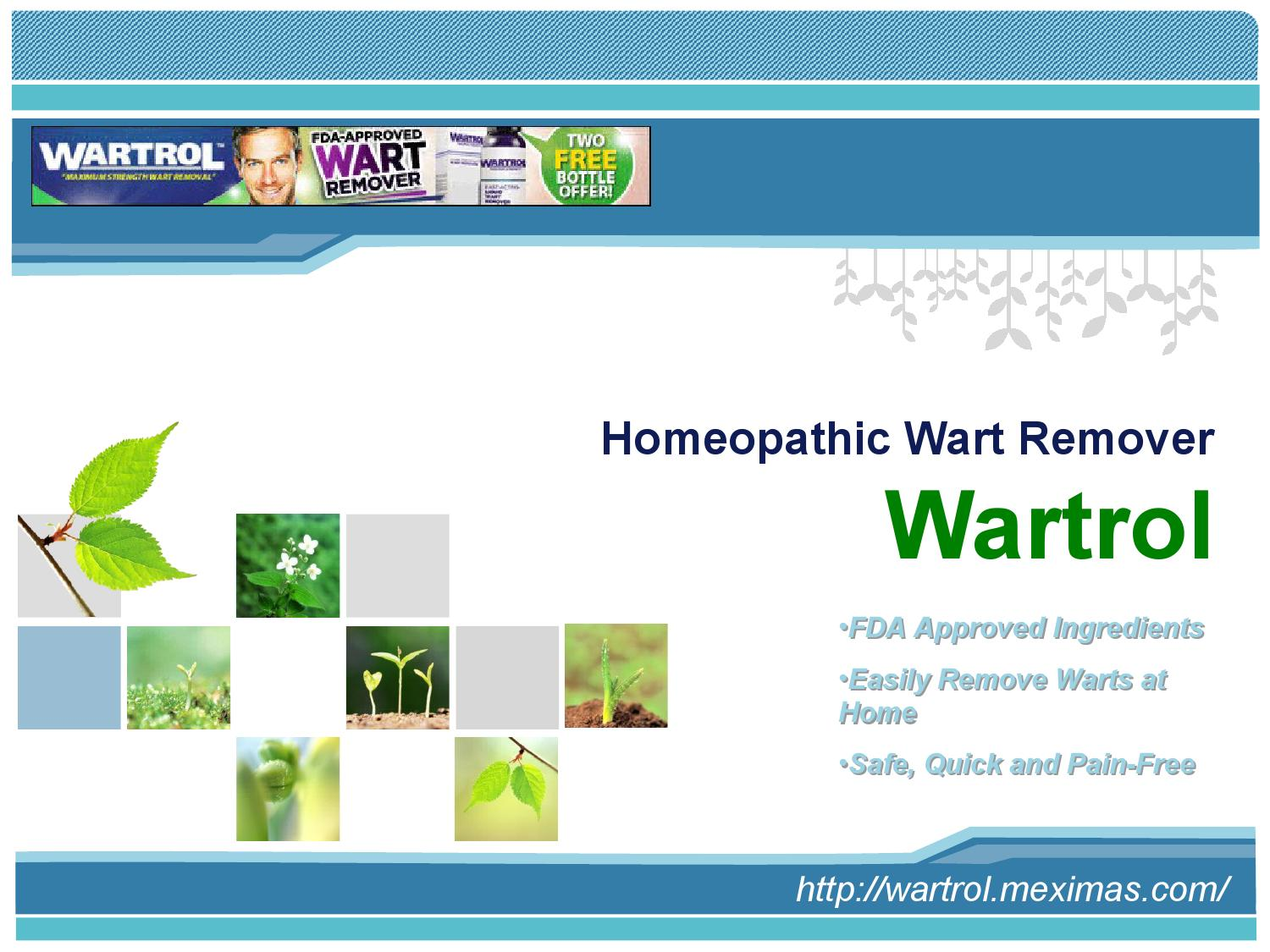 Buy Wartrol For A Safe And Highly Effective Mole Removal Remedy By