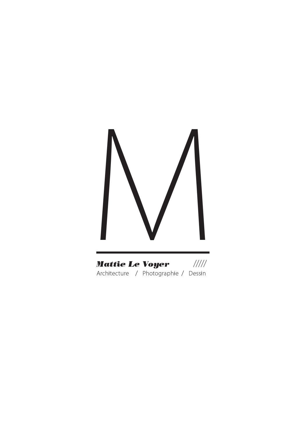 portfolio mattie le voyer by mattie le voyer