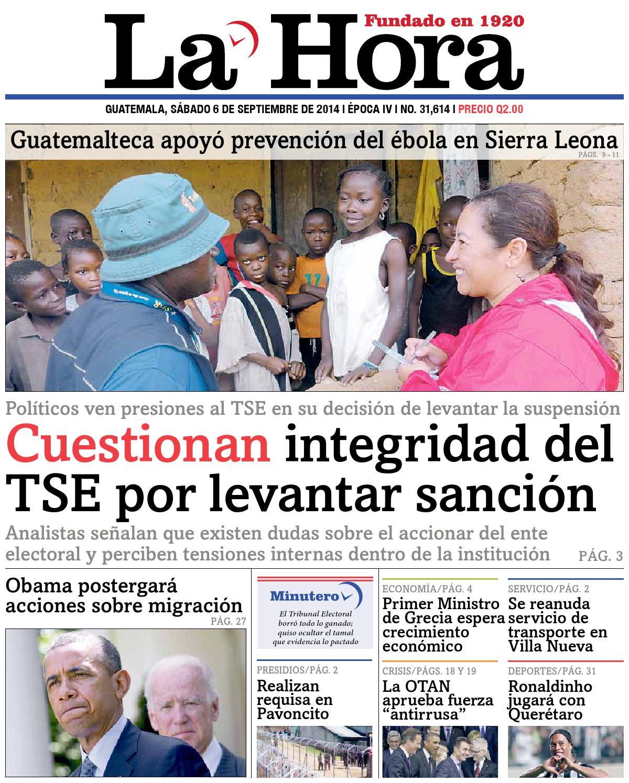Diario La Hora 06-09-2014 by La Hora - issuu