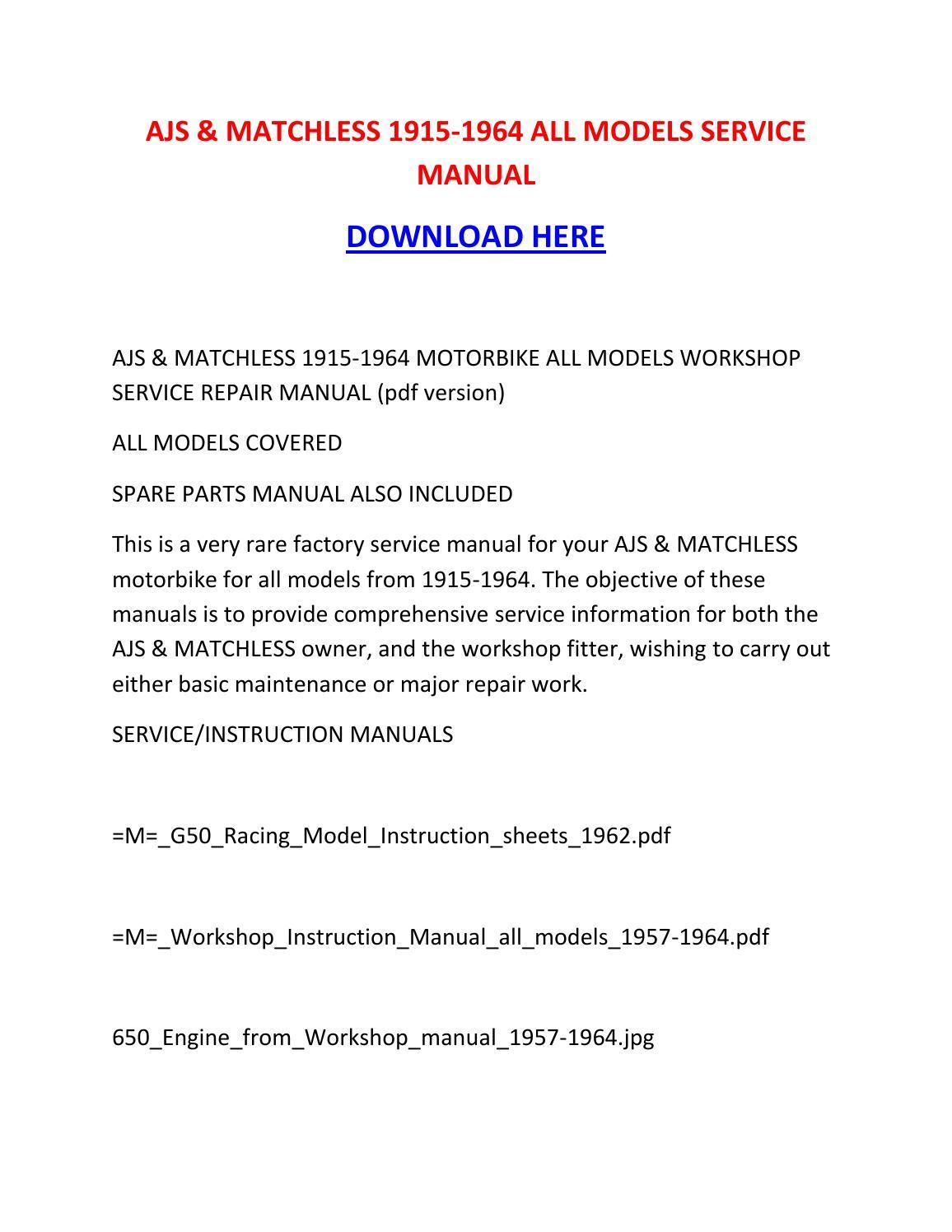 1964 fairlane workshop manual pdf