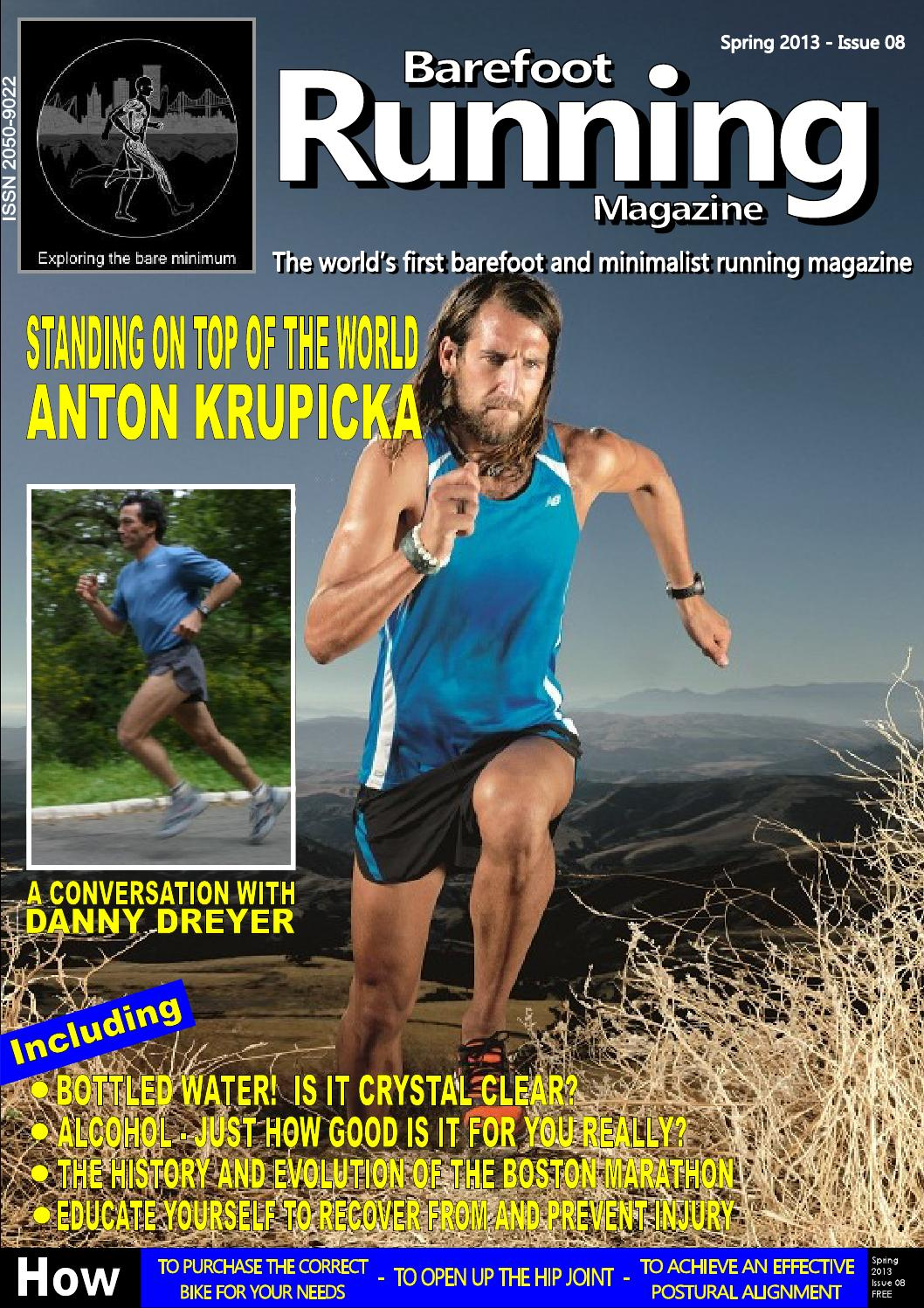 Barefoot Running Magazine Issue 8 (Spring 2013) by