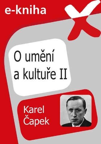 O umění a kultuře II. by Flexibooks - issuu 16cfa62049
