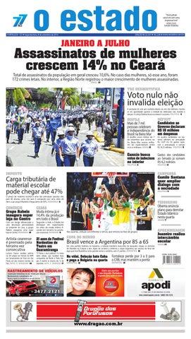 Edição 22337 - 08 de setembro de 2014 by Jornal O Estado (Ceará) - issuu 621a6399f277c