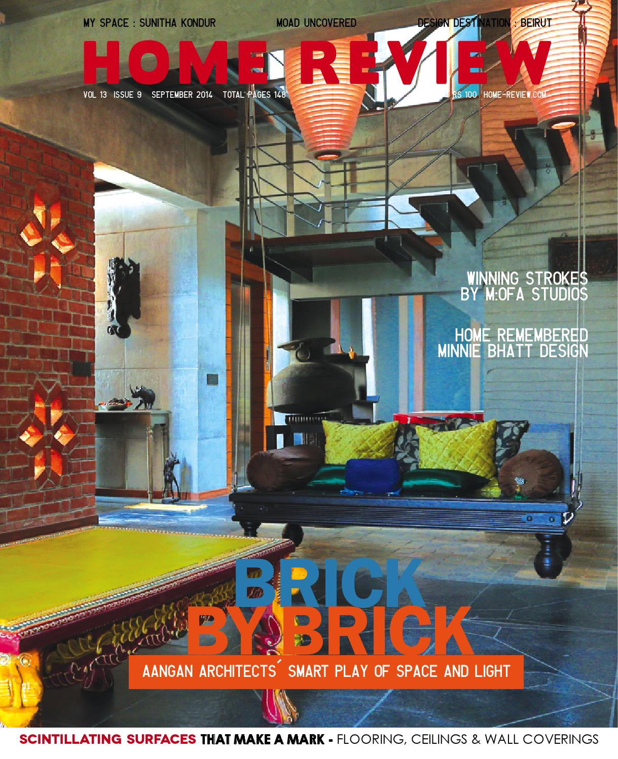 Home review september 2014 by home review issuu for Moad interior designs