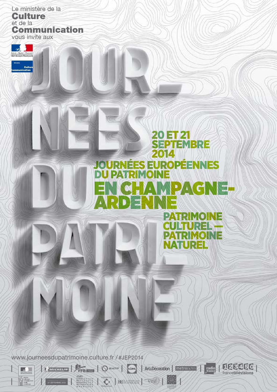 Journées Européennes Du Patrimoine By Comin Création Issuu