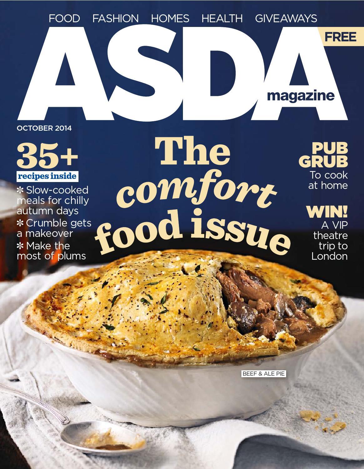 Asda magazine october 2014 by asda issuu solutioingenieria Choice Image