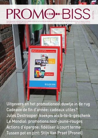 00a5c3e2ba03a1 Promo-Biss 2014-03 by Het_Portaal_Uitgevers - issuu
