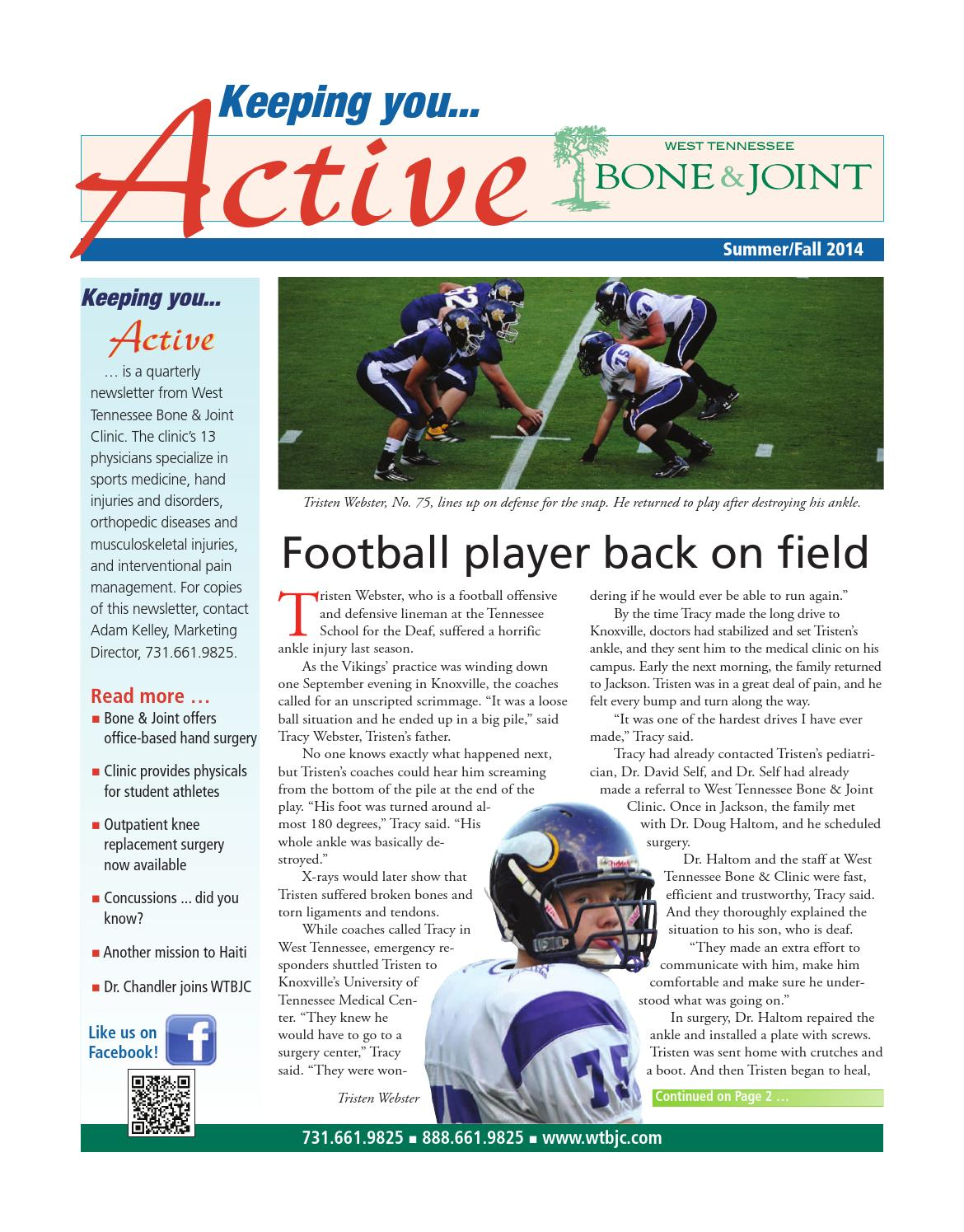 Keeping You Active by Mary Reed - issuu