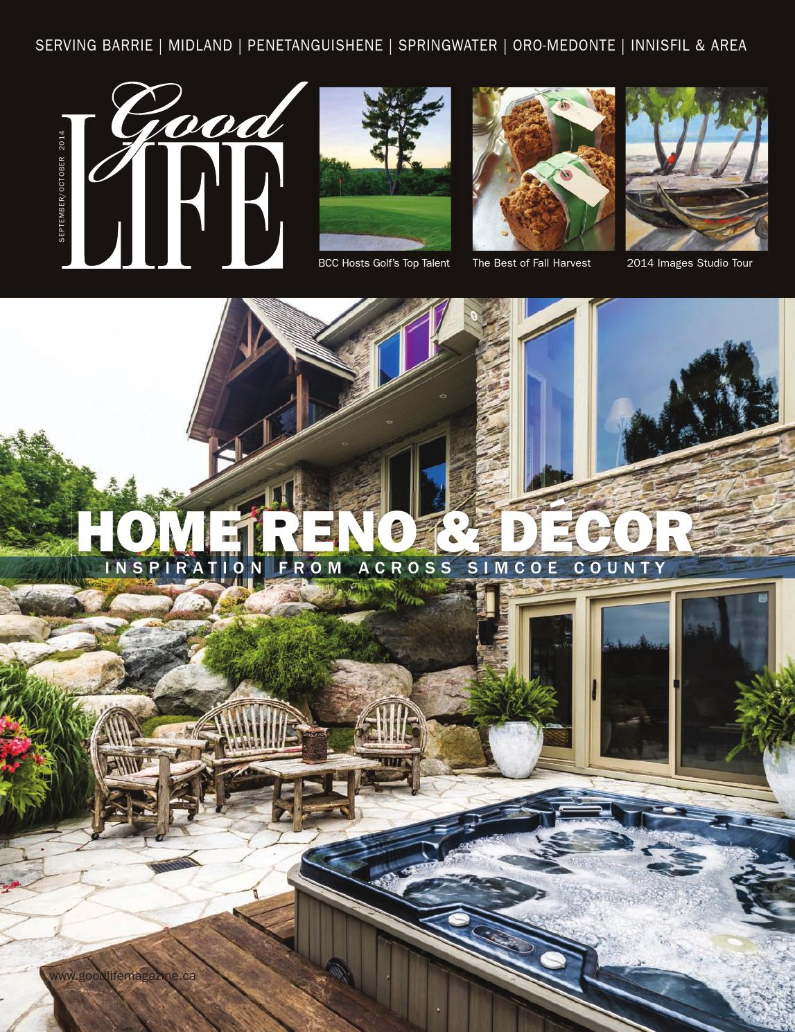 GoodLife Barrie September/October 2014 by GoodLife Magazine - Simcoe County  - issuu