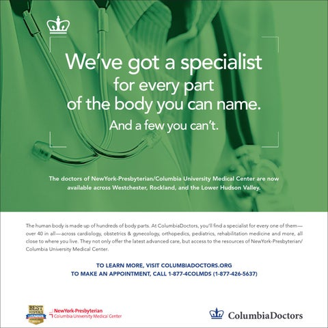 ColumbiaDoctors Westchester Advertising Campaign, 2014 by CUMC News