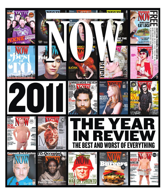 bbac96c5aa9 NOW 2011-12-22 by NOW Magazine - issuu