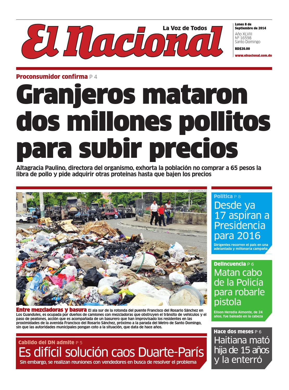 08 09 14 by Periodico El Nacional - issuu