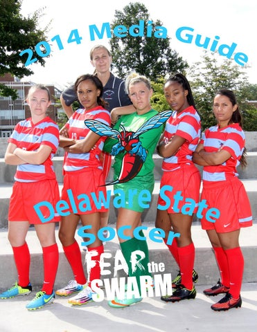reputable site 1544a 15ce2 2014 Delaware State Women's Soccer Media Guide by DSU ...