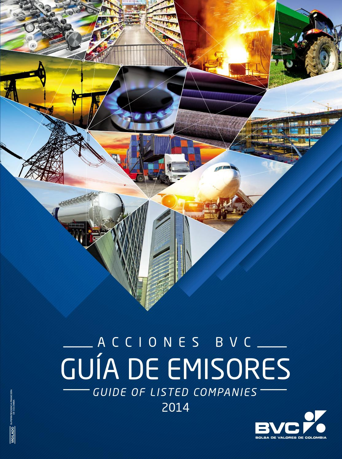 Gu A De Emisores Acciones Bvc Guide Of Listed Companies 2014 By  # Muebles Roldan Tulua