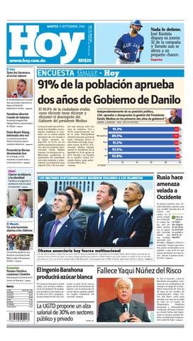 Periodico hoy 9 de sep 2014 by Periodico Hoy - issuu f3568deea28d6