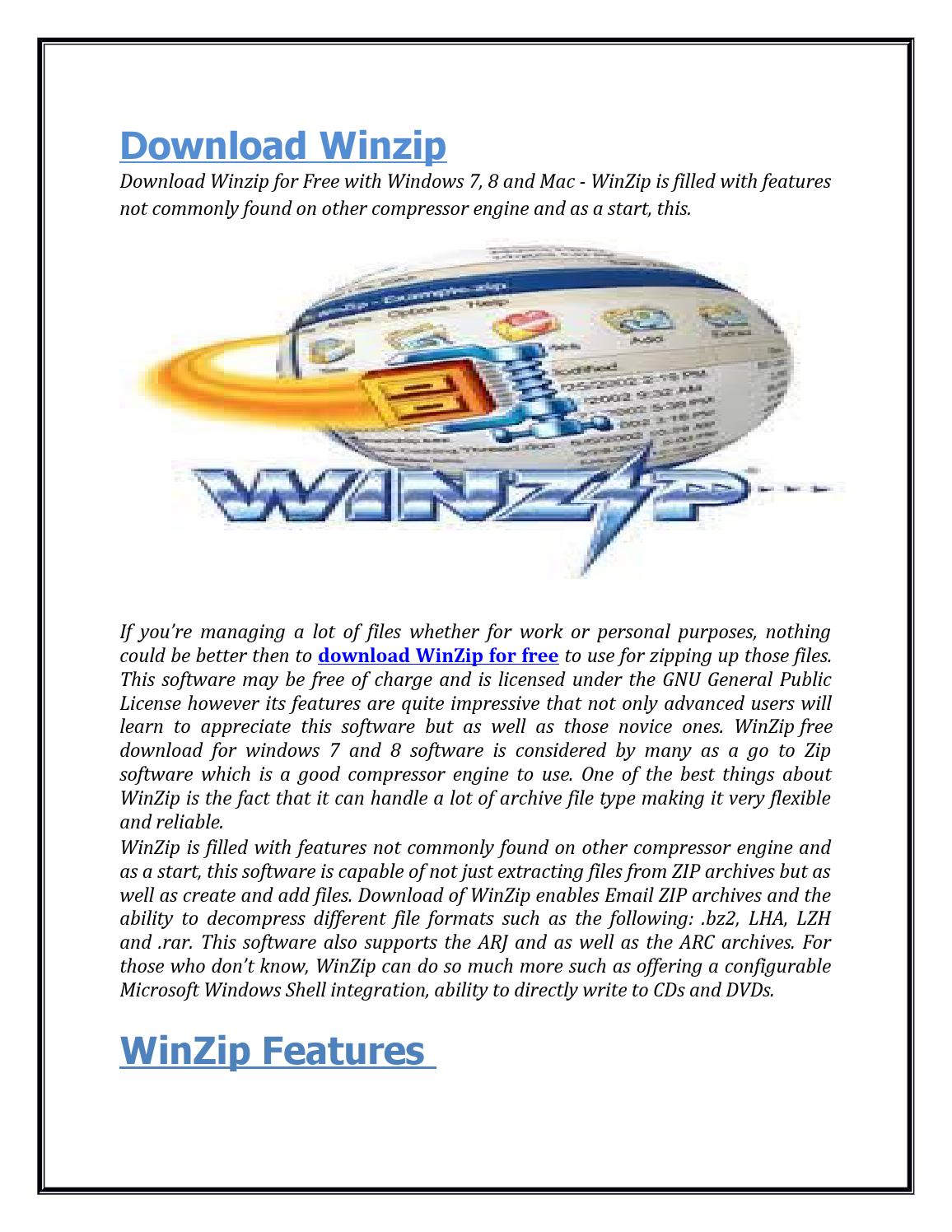 Free Download Winzip by wen zip - issuu
