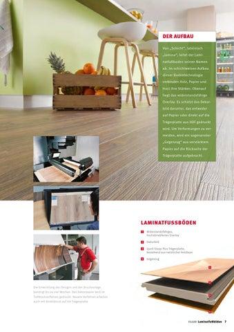 Attraktiv Im Schichtweisen Aufbau Dieser Bodentechnologie Verbinden Holz, Papier Und  Harz Ihre Stärken. Obenauf Liegt Das Widerstandsfähige Overlay.