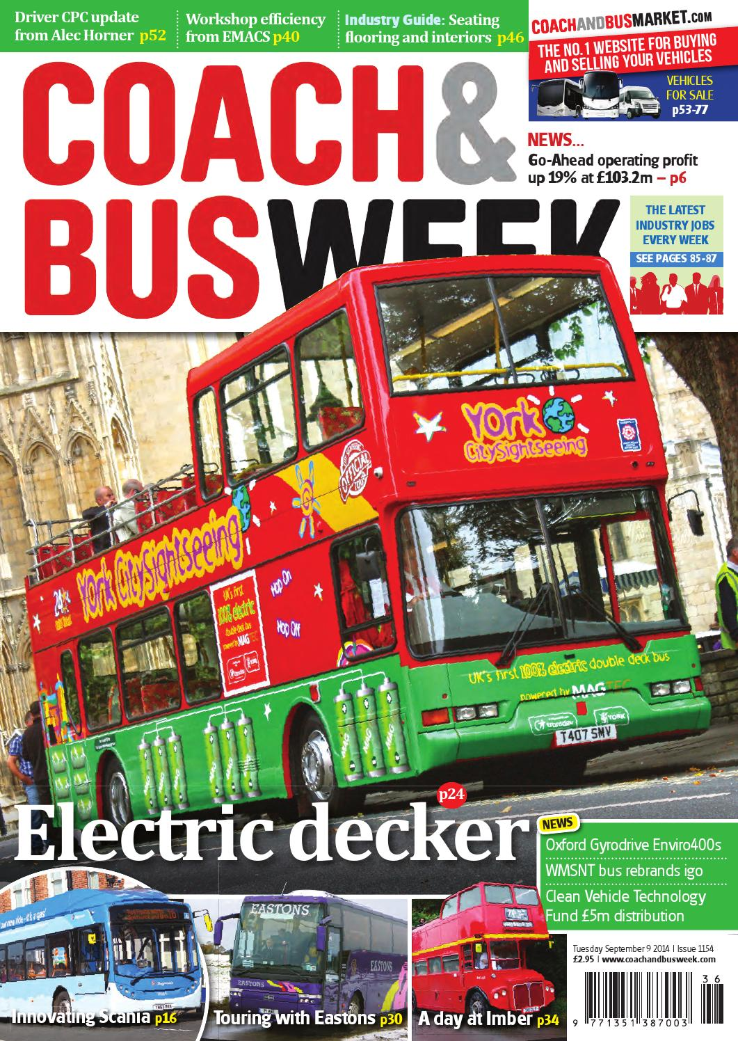 Coach Bus Week Issue 1154 By And Group Travel Volvo B12m Wiring Diagram World Issuu