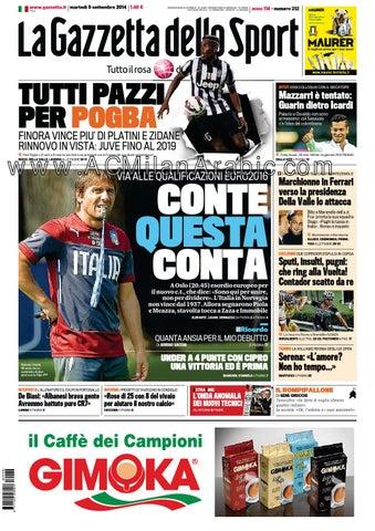 Gazzetta dello sport 09 09 2014 by ACMilanArabic - issuu ca452c7cd188