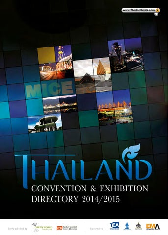 aea1048482 Thailand Convention   Exhibition Directory 2014 2015 by Green World ...