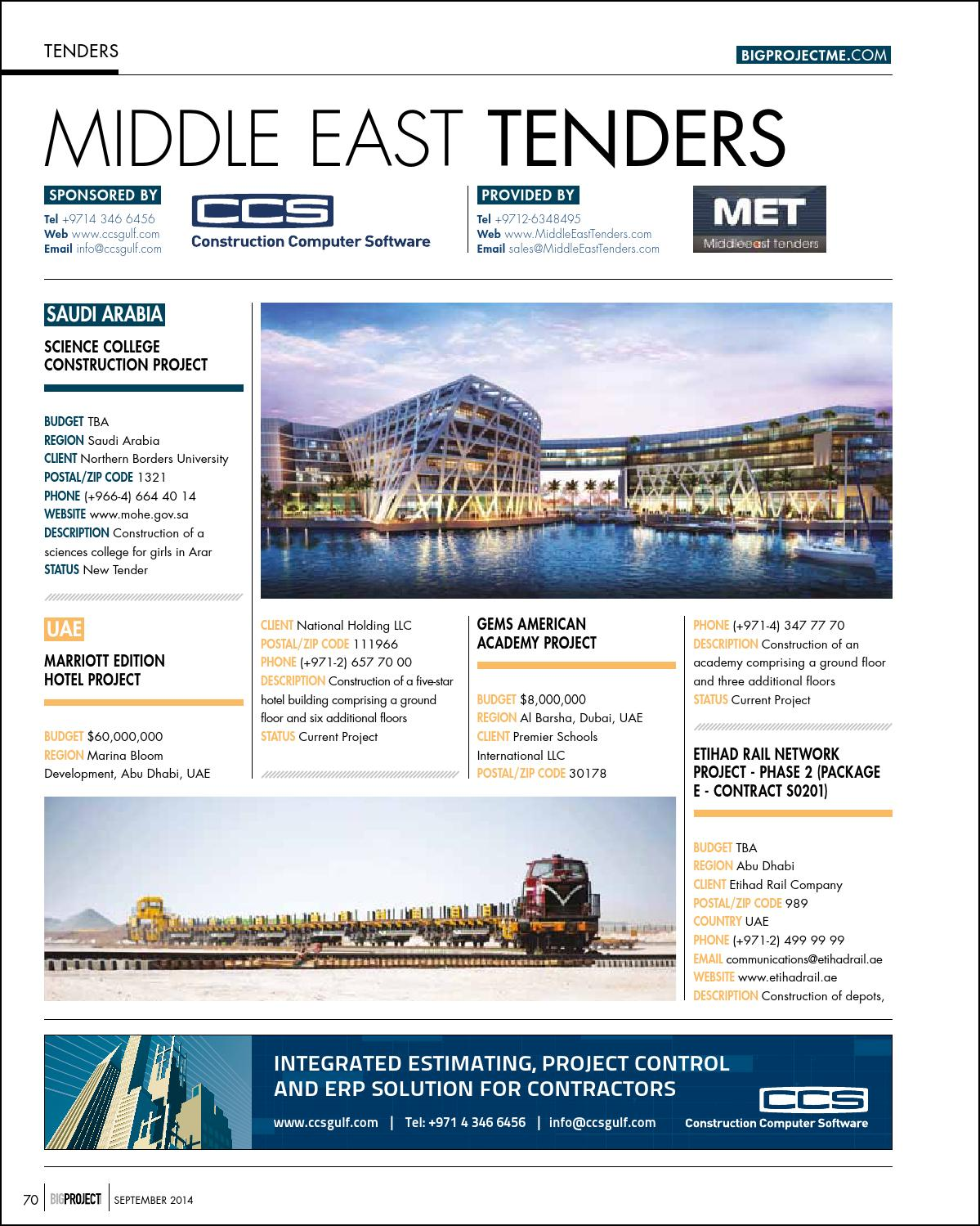 Big Project September 2014 by Big Project Middle East - issuu