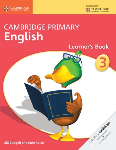 Cambridge Primary English Learner S Book 3 By Cambridge University Press Education Issuu