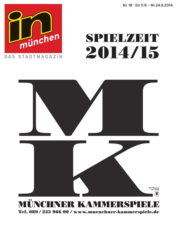 In Muenchen Ausgabe 18 2014 By Inmagazin Verlags Gmbh Issuu