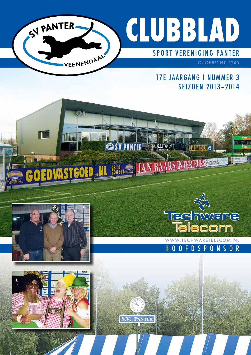 Clubblad SV Panter - Jaargang 16 - 2013/2014 - Nummer 3 by SV Panter ...