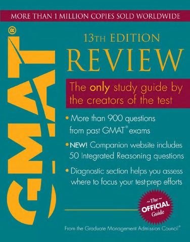 Official Guide GMAT 13th edition part 1 by oleg - issuu